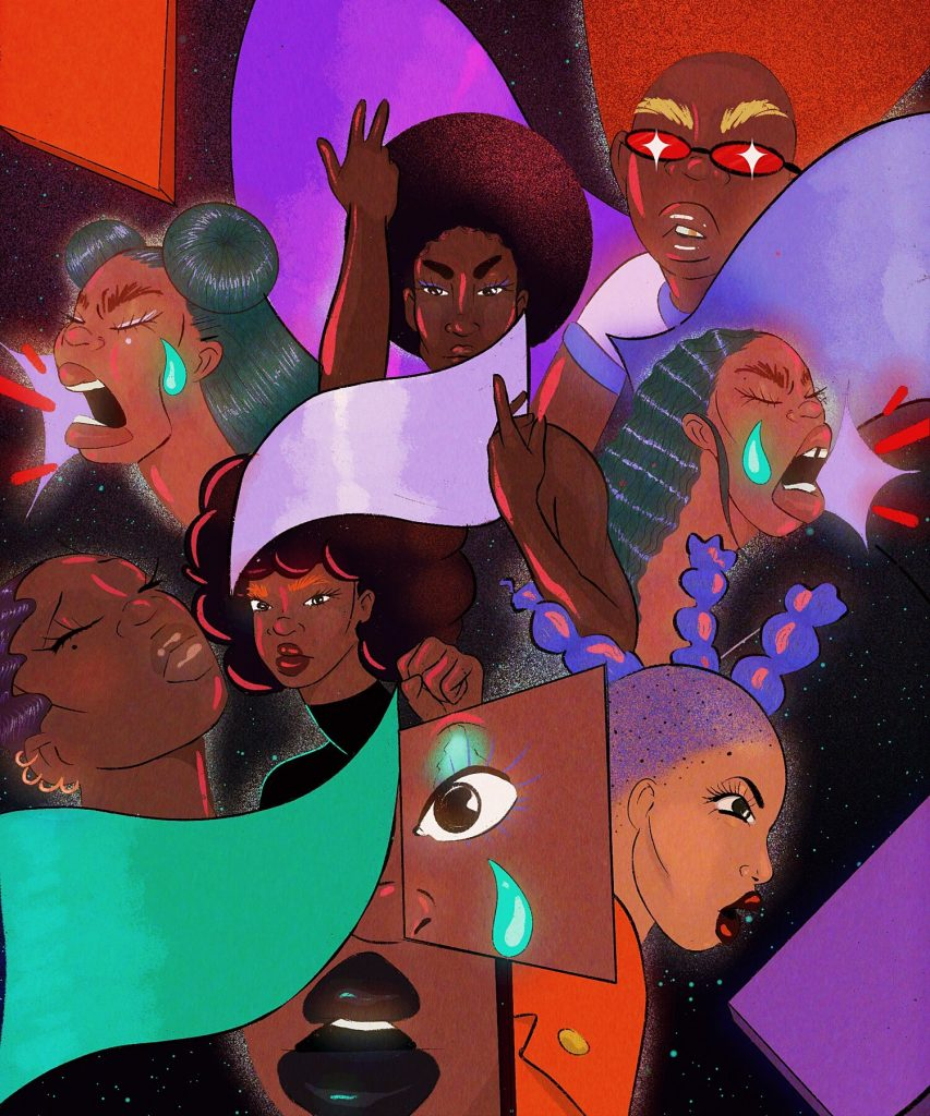 Illustration by Amika Cooper for Refinery29