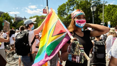 Vogue | 'I Believe in Black Trans Power': 15,000 Protestors Showed Up for a Consistently Marginalized Community